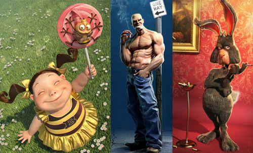 Amazing 3D Character Designs – Jose Alves