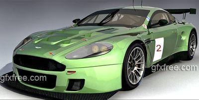 Aston Martin DBR9 3d model
