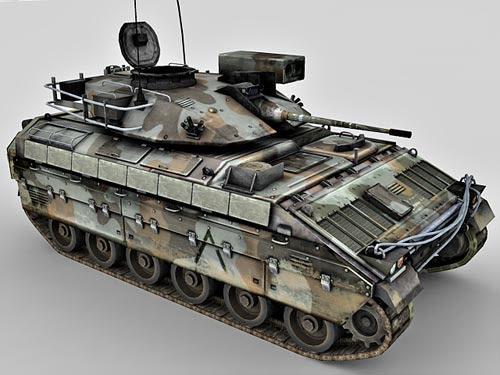 Armoured personnel carrier – APC 3d model