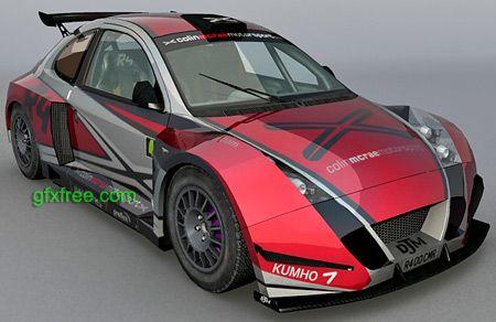 Colin McRae 3d model
