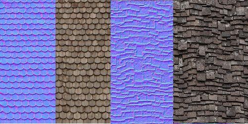 Roof Slate Texture