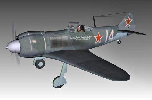 Lavochkin La-5 3d model