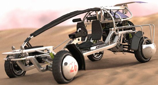 Buggy free 3d model