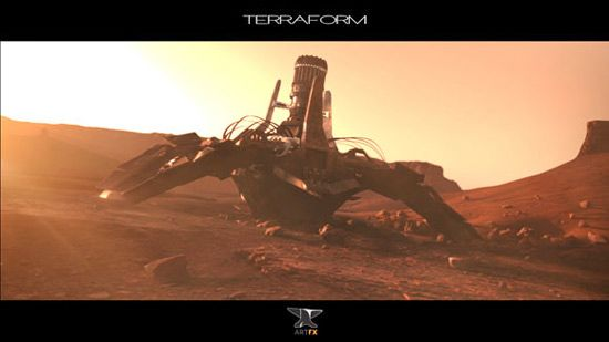 Terraform 3d animation
