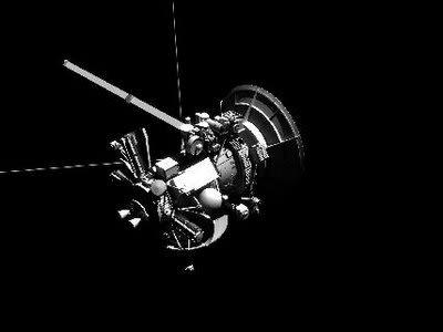 Cassini Assembly 3d model