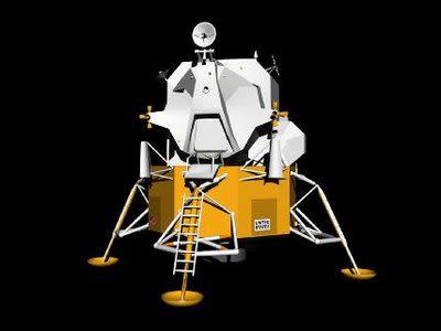 Apollo Lunar Module 3d Model 3DS