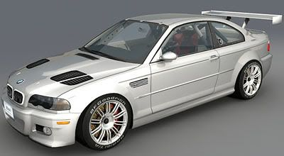 Bmw M3 E46 Gtr 3d Model Animium 3d Models