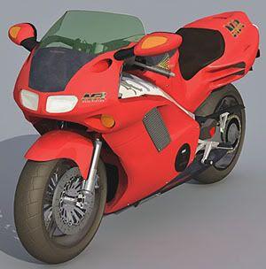 HONDA 750NR 3d model