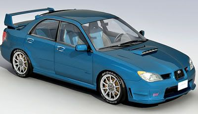 Subaru Impreza STi 3d model