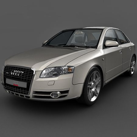 Audi A4 sedan 3d model
