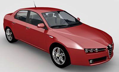 Alfa Romeo 159 3d model