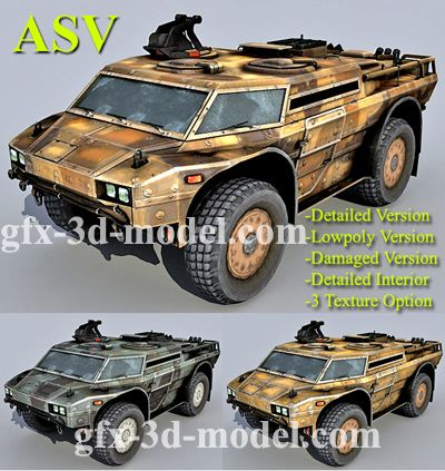 Armored Security Vehicle