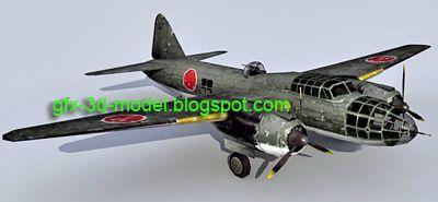 Mitsubishi G4M2A Betty – Aircraft model