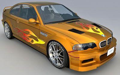 BMW M3 GTR – NFSMW
