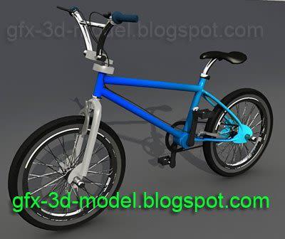 BMX Bicycle – 3d model