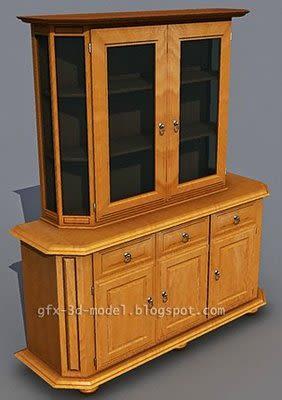 Cabinet 3d model – Animium 3D Models