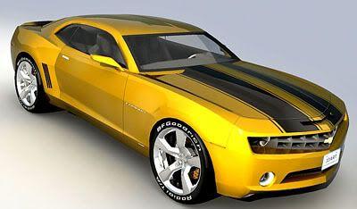 Chevrolet Camaro – Bumblebee 3d model
