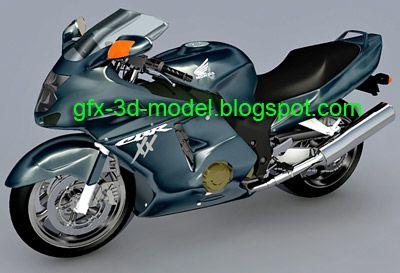 Honda CBR 1100XX – bike model