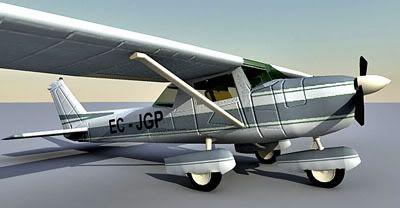 Cessna 3D Model