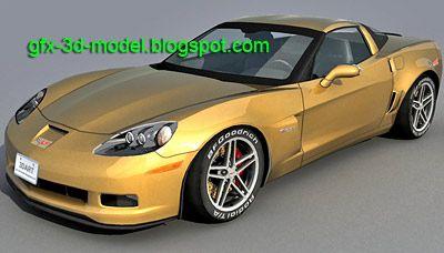 Corvette Z06 3d model