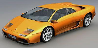 Lamborghini Diablo 3d model