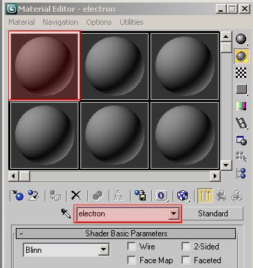 Realistic electron microscope material in 3dsmax