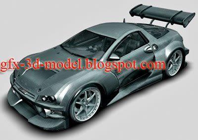 Exodus CD 9.0 XL car model