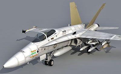 F-18 3d model
