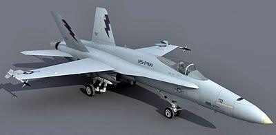 F-18 Lowpoly