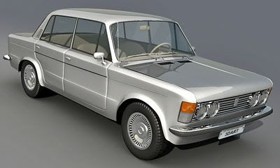Fiat 125p 3d model