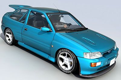 Ford RS Cosworth 3d model