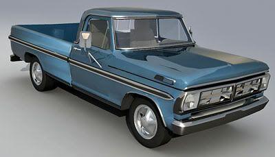 Ford Pickup 3d model