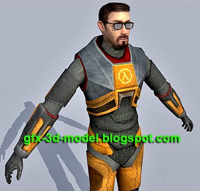 Gordon Freeman Game Character