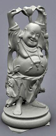 Happy Buddha 3d model
