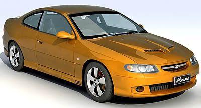 Holden Monaro 3d model