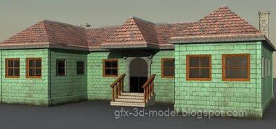 House 11 3d model