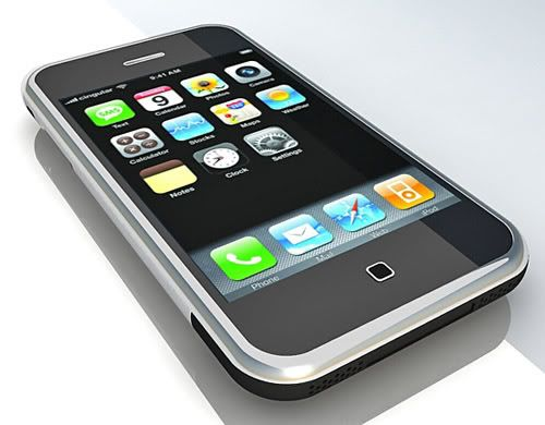 Apple iPhone 3G – 3d model