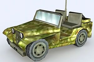 Jeep – Lowpoly