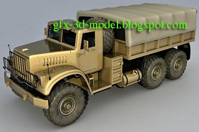 Kraz Truck model