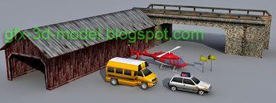 Lowpoly 3d models