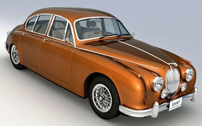 Jaguar Mark 2 – 3d model