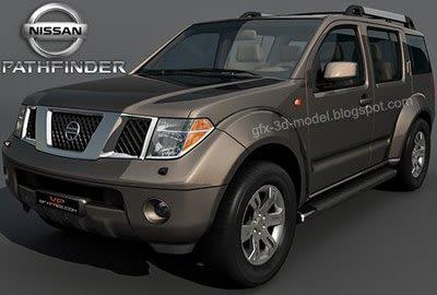Nissan Pathfinder 3d model