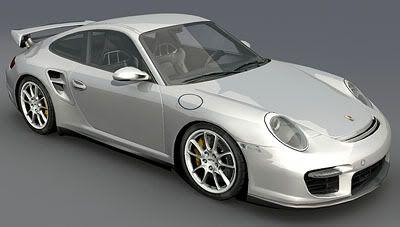 Porsche 911 GT – Bitmaps