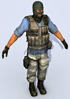 Soldier 11 3d character model