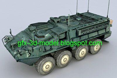Stryker – 3d model