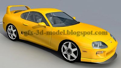Toyota Supra car model