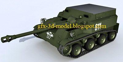 ASU 57 TANK model