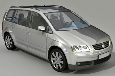 Volkswagen Touran 3d model