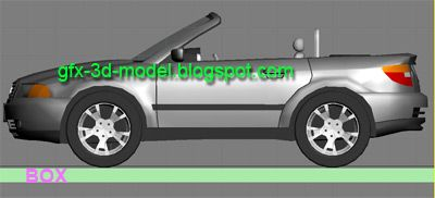 Reactor – Toy Car in 3dsmax
