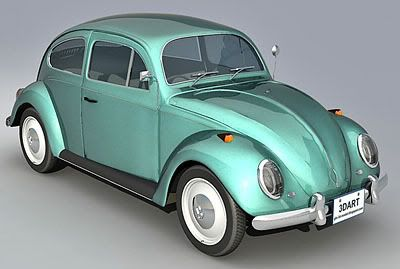 Volkswagen Beetle -old – 3d model